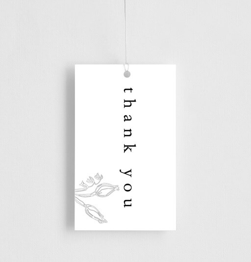 Blanc Bloom - Gift Tags