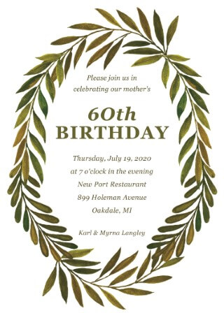 Astonishing 90Th Birthday Invitations Customise Print Online With Paperlust Funny Birthday Cards Online Barepcheapnameinfo