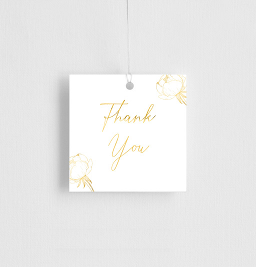 Peony Bloom - Gift Tags