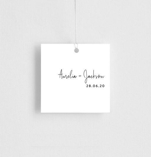 Linear - gift tags