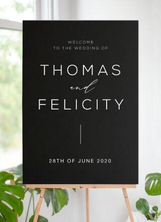 Verde - Wedding Signs