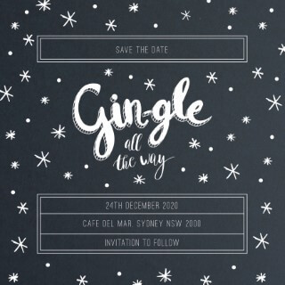 Gin - Save The Date