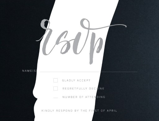 Become One - RSVP Cards