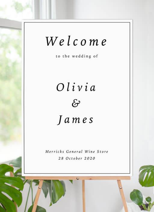 Love Land - Wedding Signs