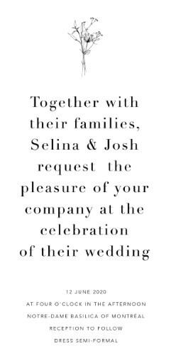 Delilah - wedding invitations