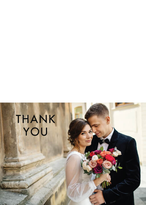 Blooming Red - Thank You Cards