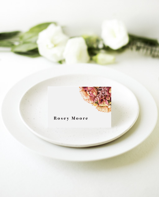 Summer Breeze - Place Cards