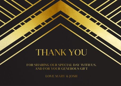 The Great G - Thank You Cards