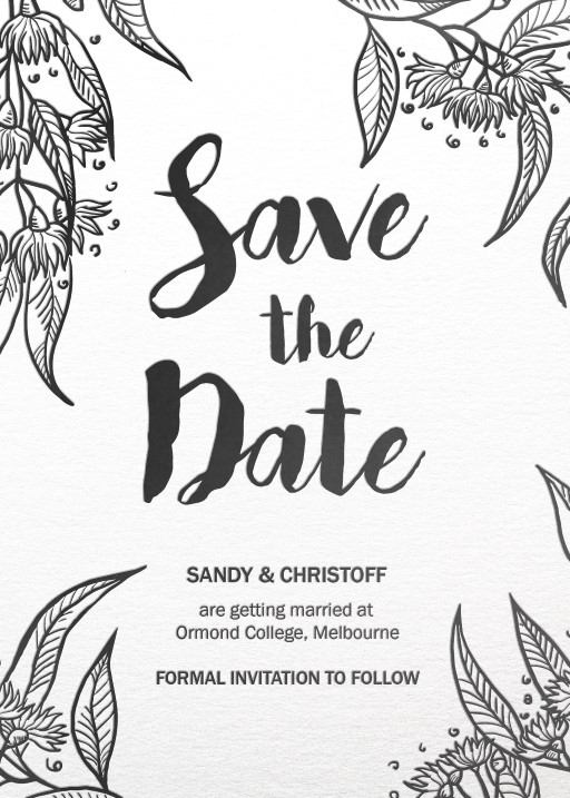 Australiana - Save The Date