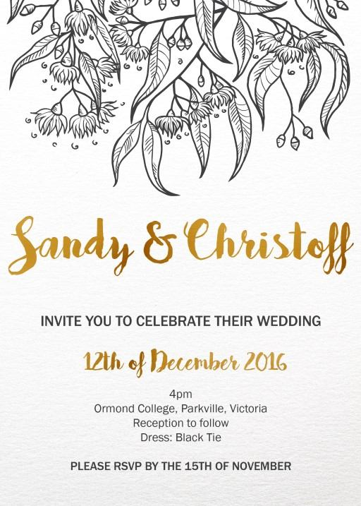Wedding Invitations Christchurch Browse New Zealand Wedding Cards