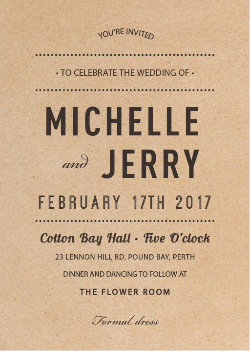 Cheap wedding invitations designs by creatives printed by paperlust woodstock invitations stopboris Choice Image