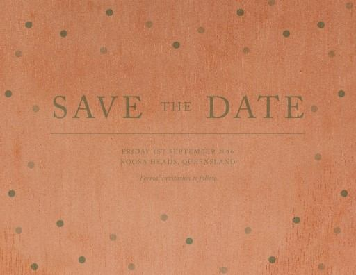 Delicate dots - Save The Date