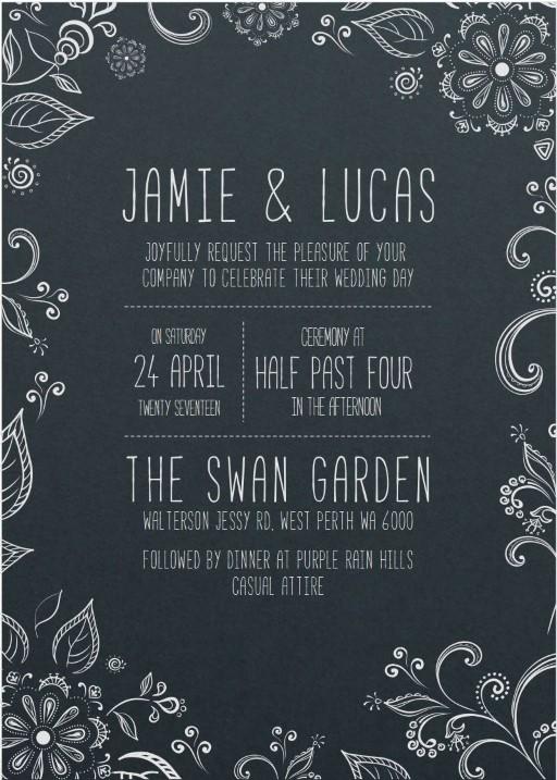 Der Garten - Invitations